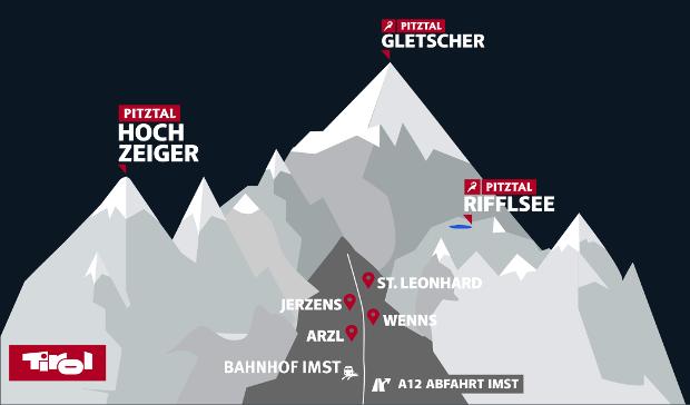 Pitztal in Österreich im winter offizielle webseite │pitztal