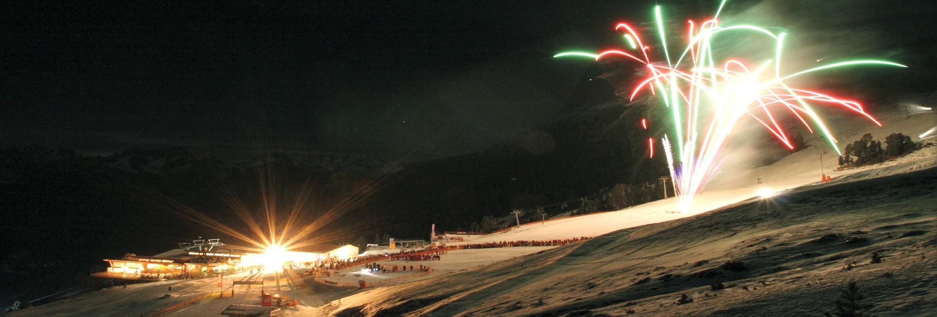 Vorsilvester Party im Hochzeiger Skigebiet
