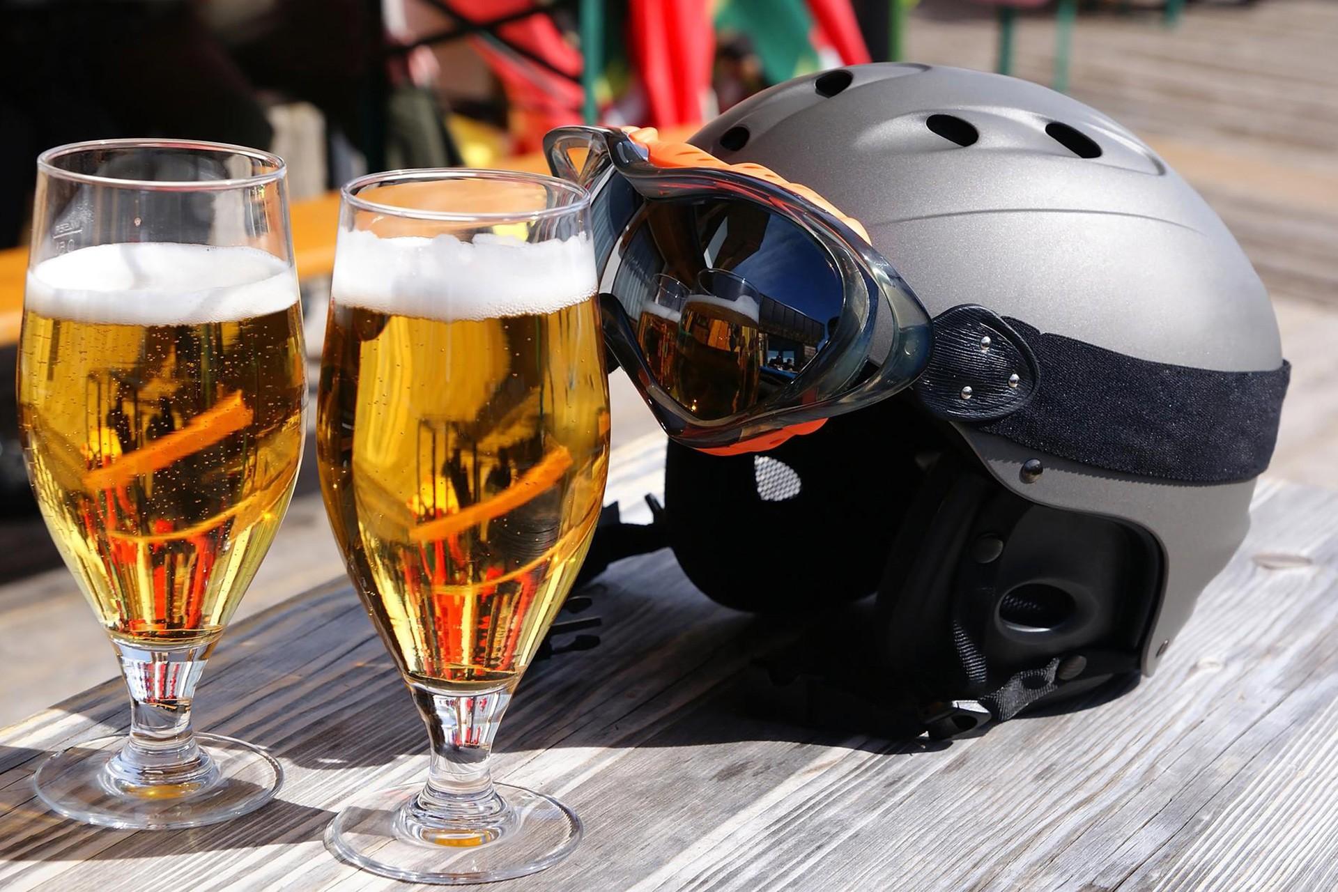 Après-Ski at Pitztaler Skihütte