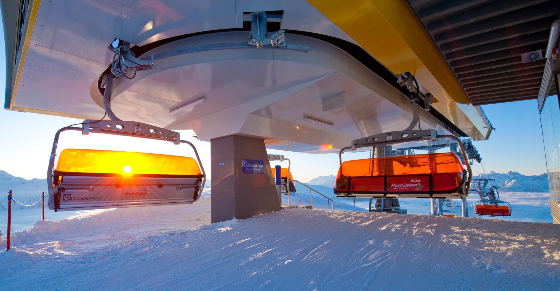 Liftanlagen Hochzeiger Skigebiet