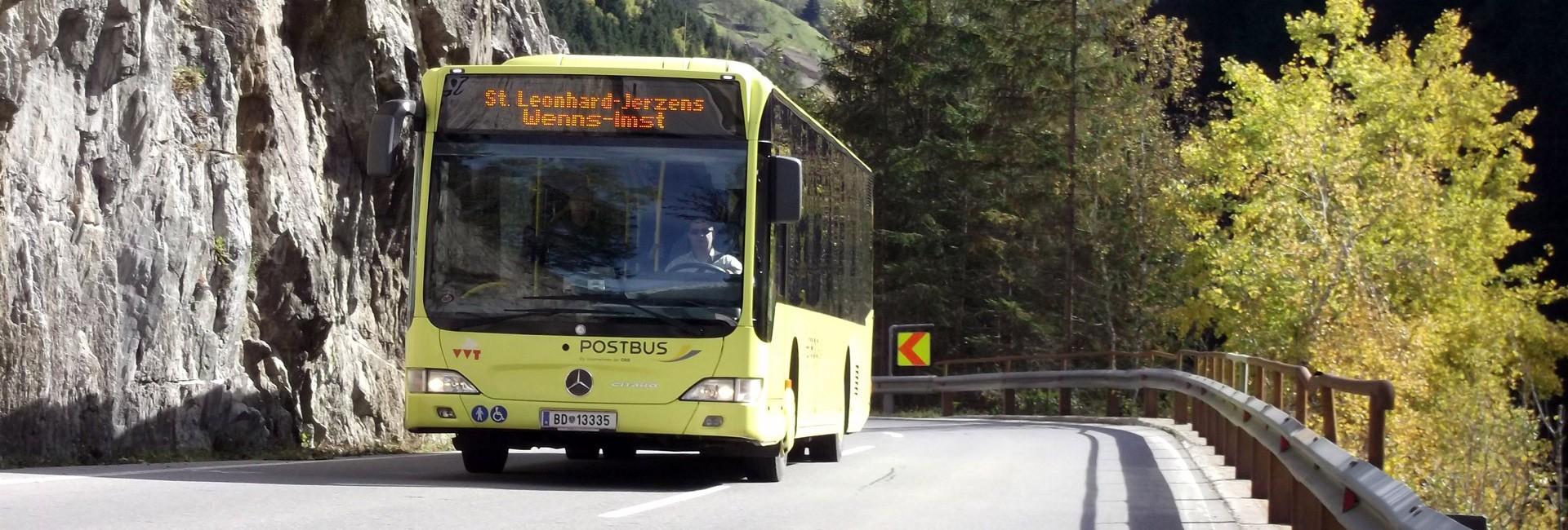 Bus Shuttle Service Public Bus Transport Information Pitztal