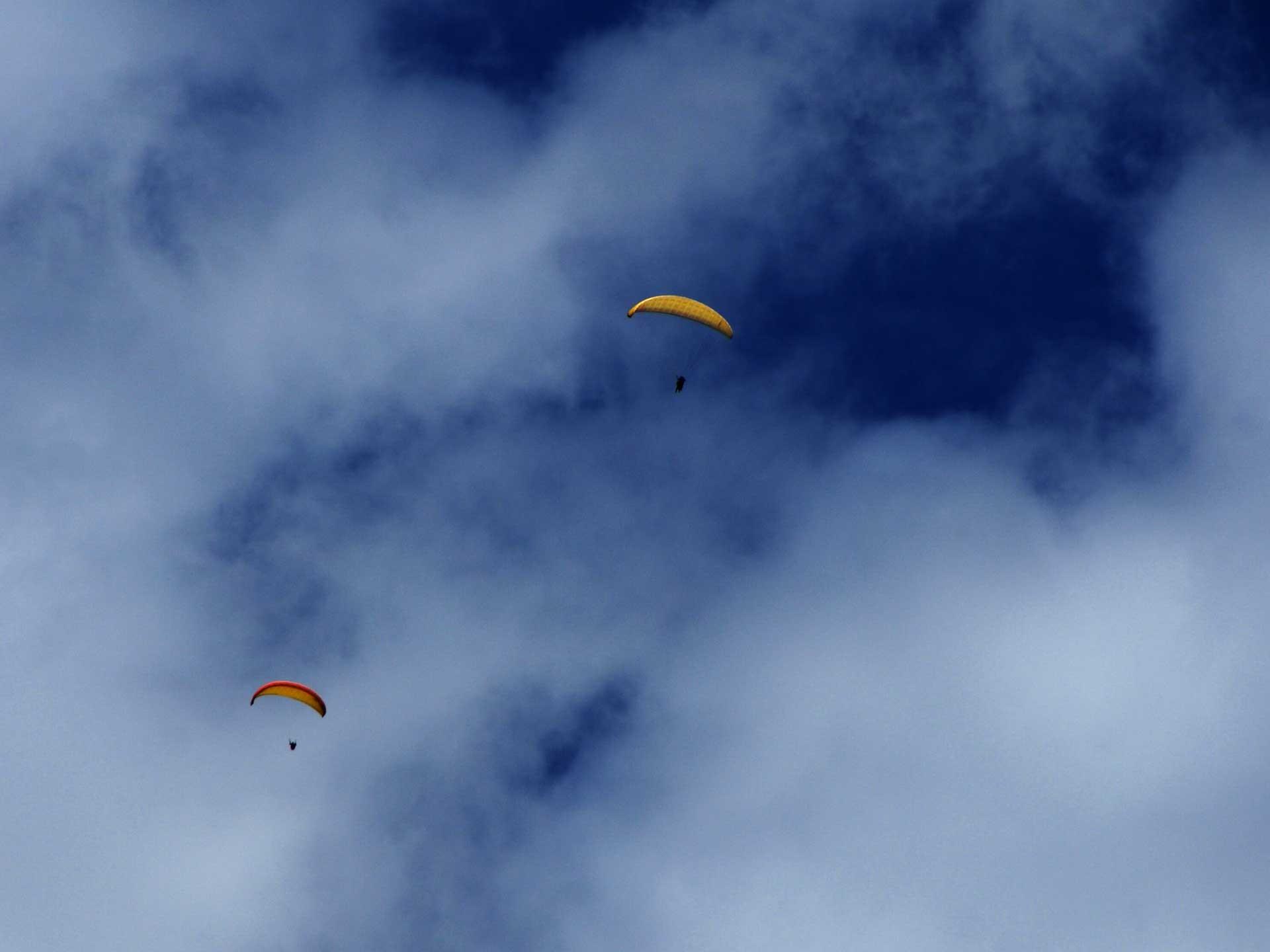 Paragliding in Tyrol, Austria │Pitztal