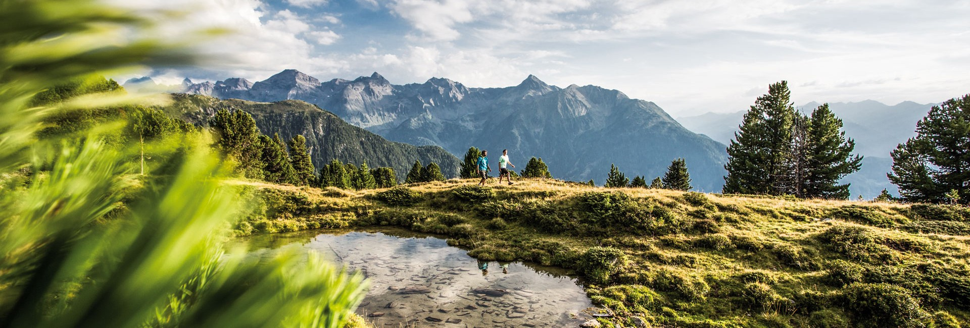 Wanderung Sechszeiger Gipfelkreuz im Pitztal
