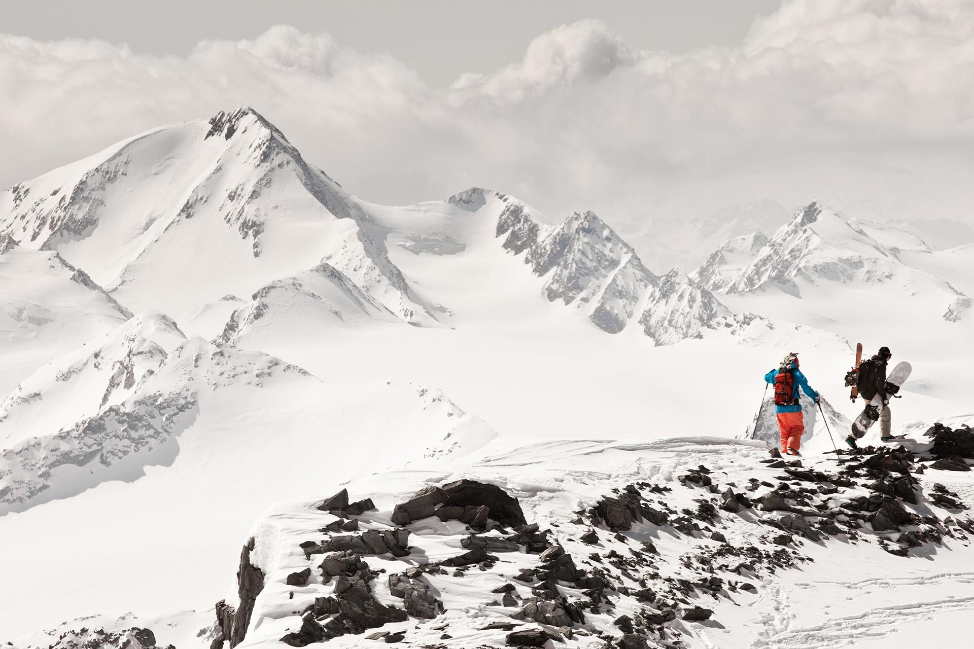 Freetouring am Pitztaler Gletscher