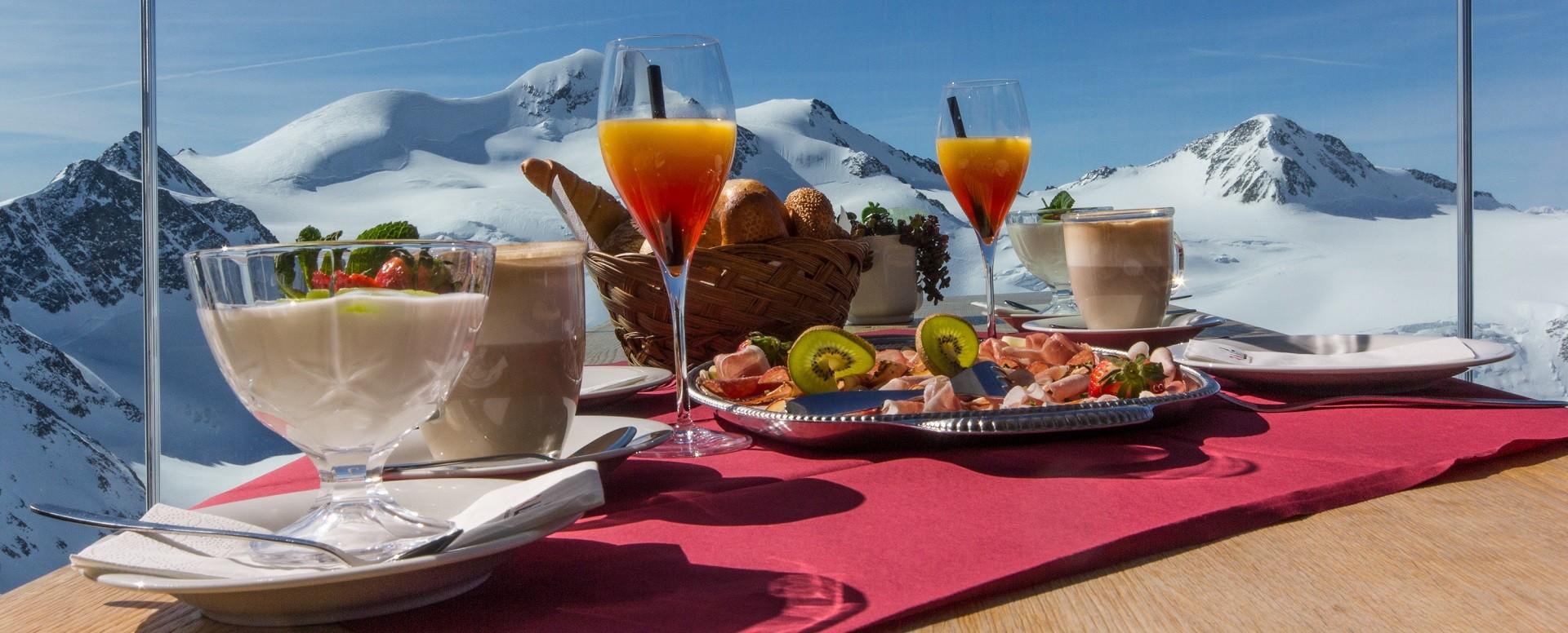 Tirols höchstes Frühstück