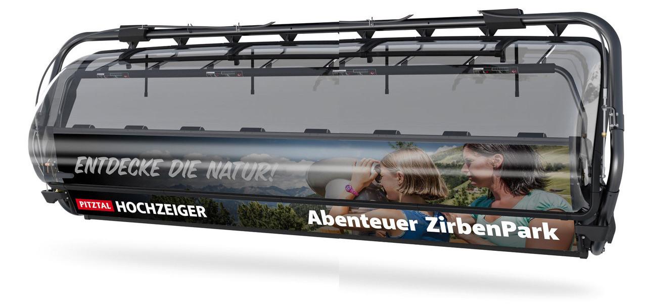 Hochzeiger 2.5: topmoderne Achtersesselbahn