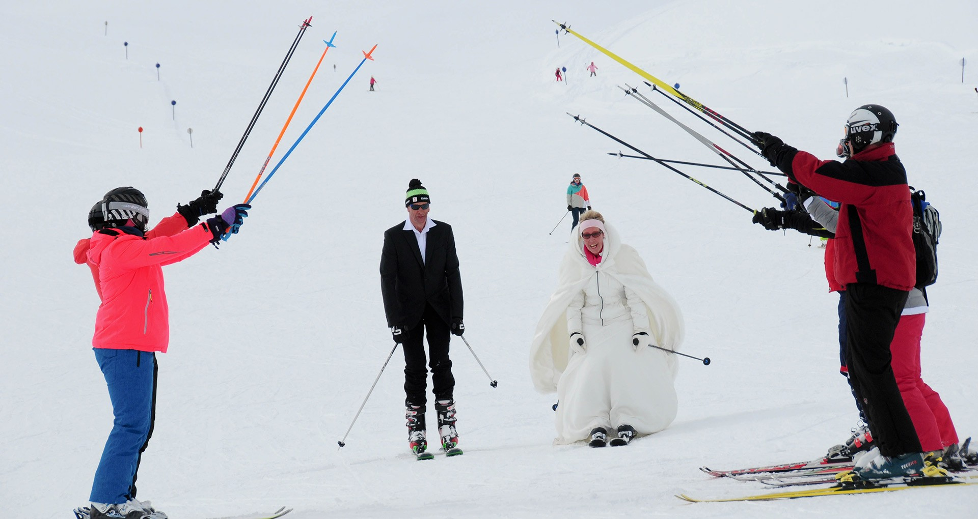 Wedding Ceremony in Austria's Highest Registry Office followed by Downhill Skiing