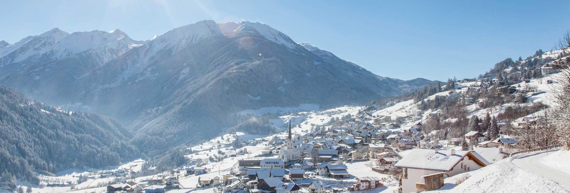 Winterpicture Wenns Pitztal