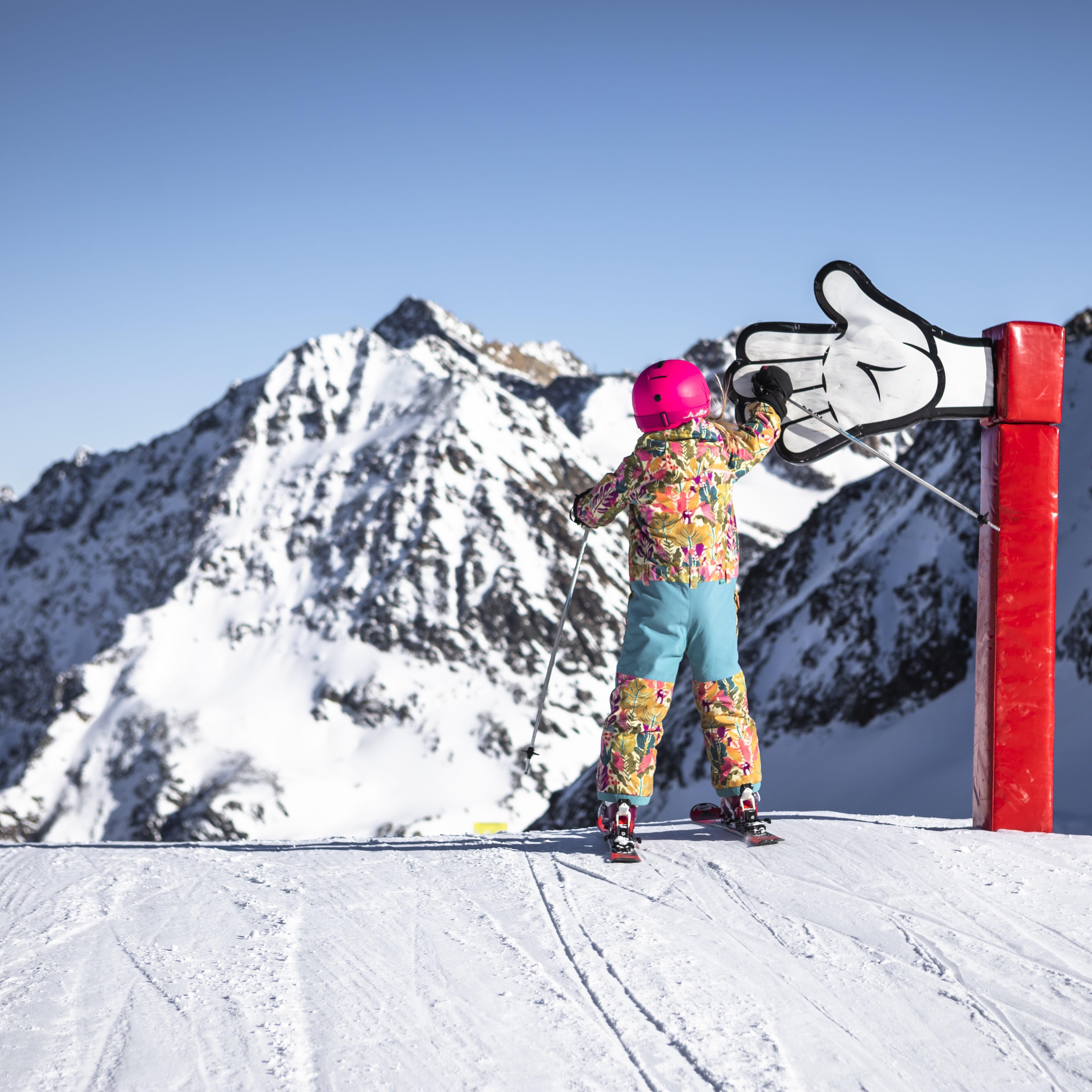 Funpark am Pitztaler Gletscher/Tirol