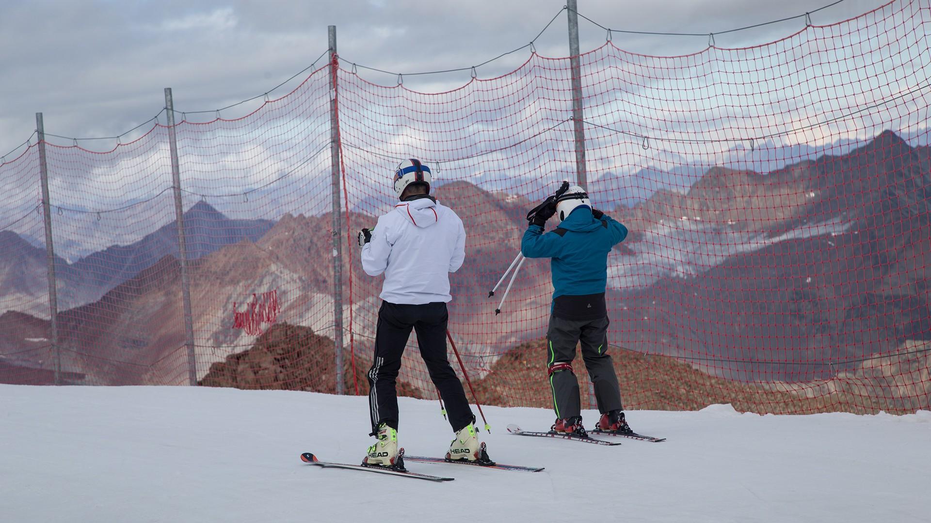 Start in die Wintersaison am Pitztaler Gletscher