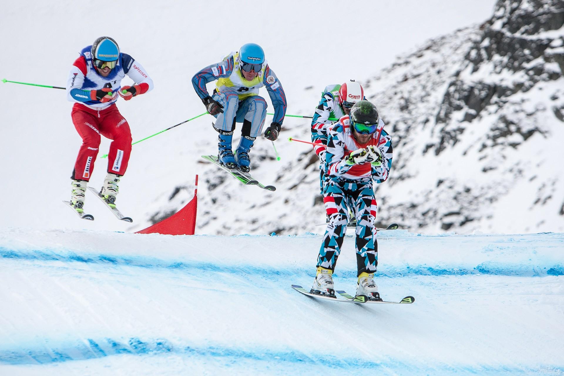 Ski- und Snowboardcrosspark am Pitztaler Gletscher