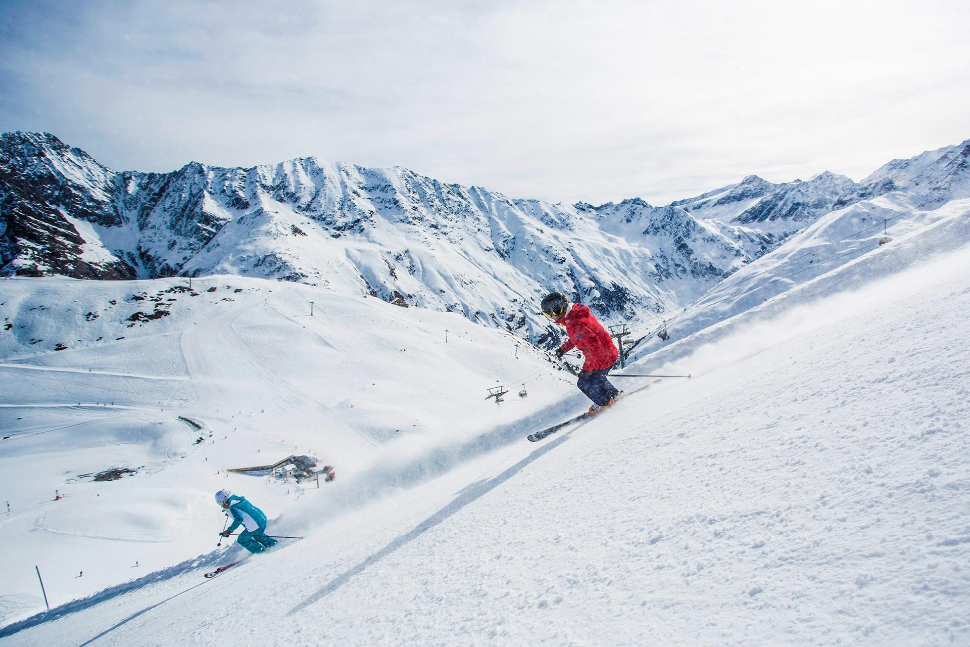 pitztal ski map: ski resorts & ski pistes│pitztal region