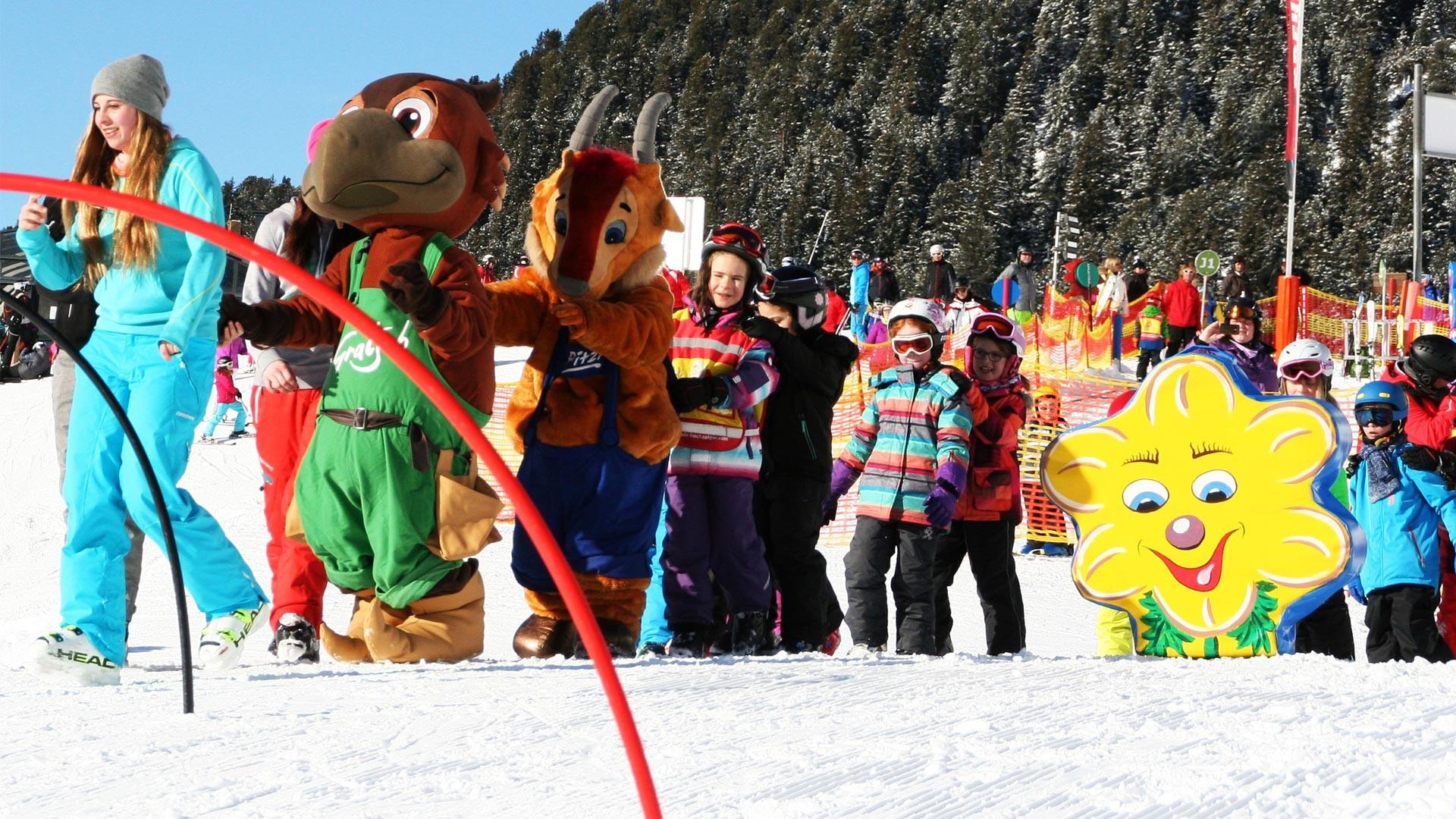 Skischule Kinderskikurs Hochzeiger Pitztal