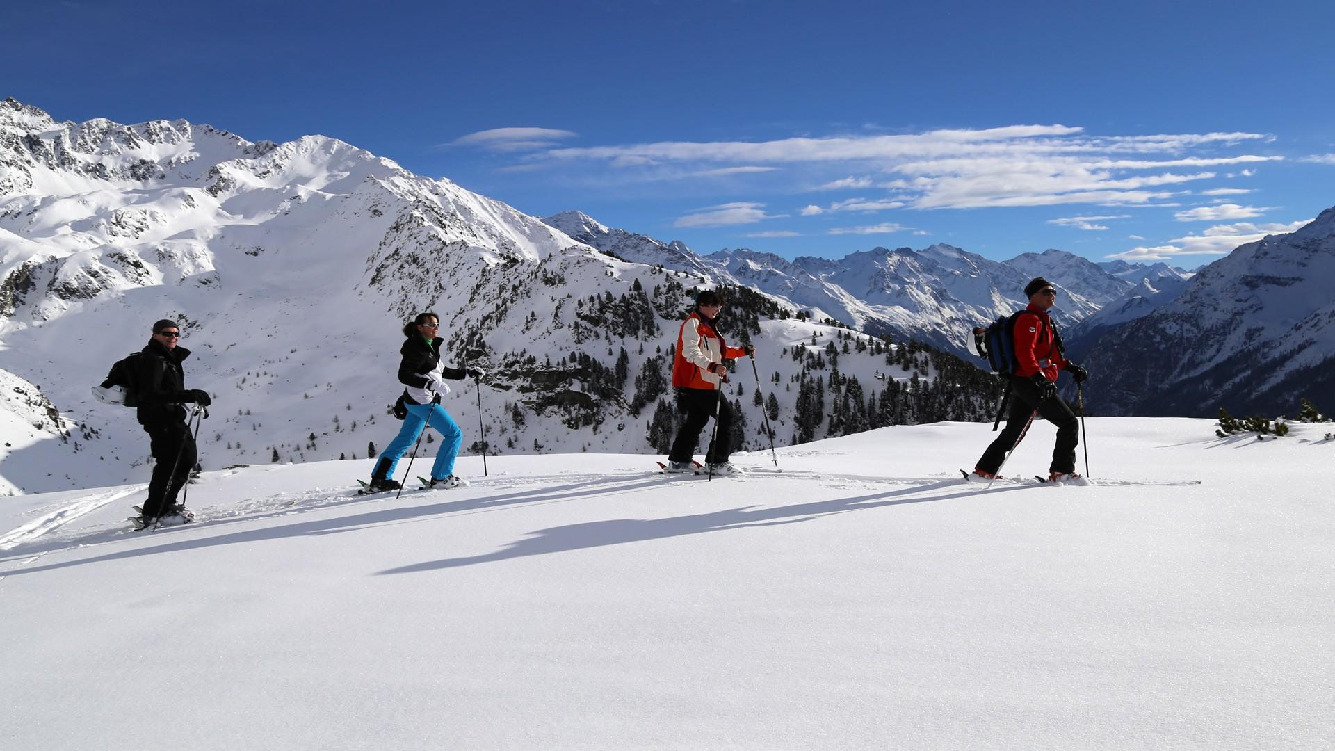Ski tour Hochzeiger Pitztal