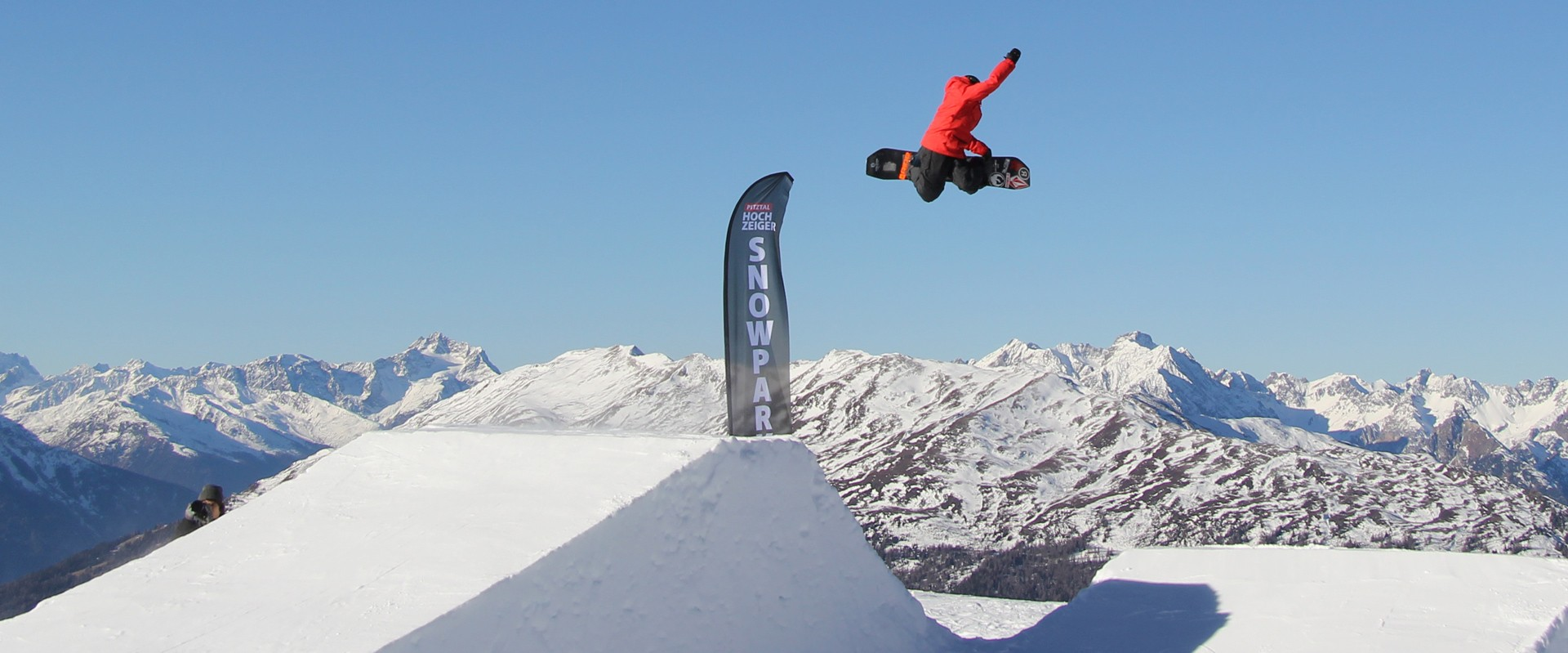 Snowpark Hochzeiger Pitztal