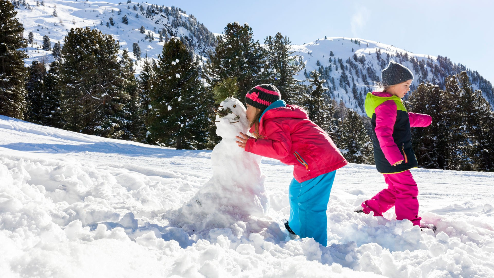 Spielplatz Schnee: playful & child-oriented ski courses ...