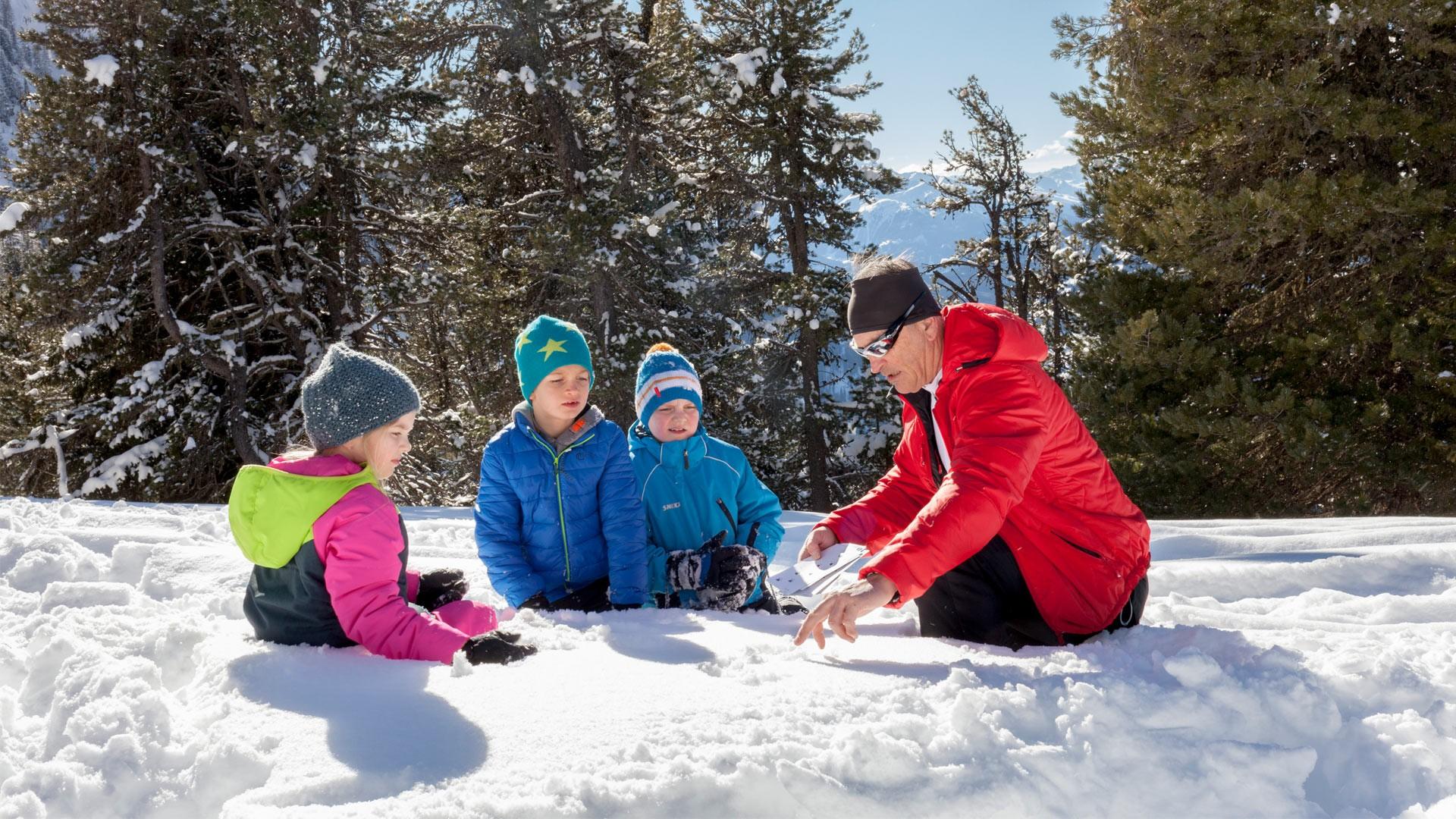 Winterwandern Hochzeiger Pitztal