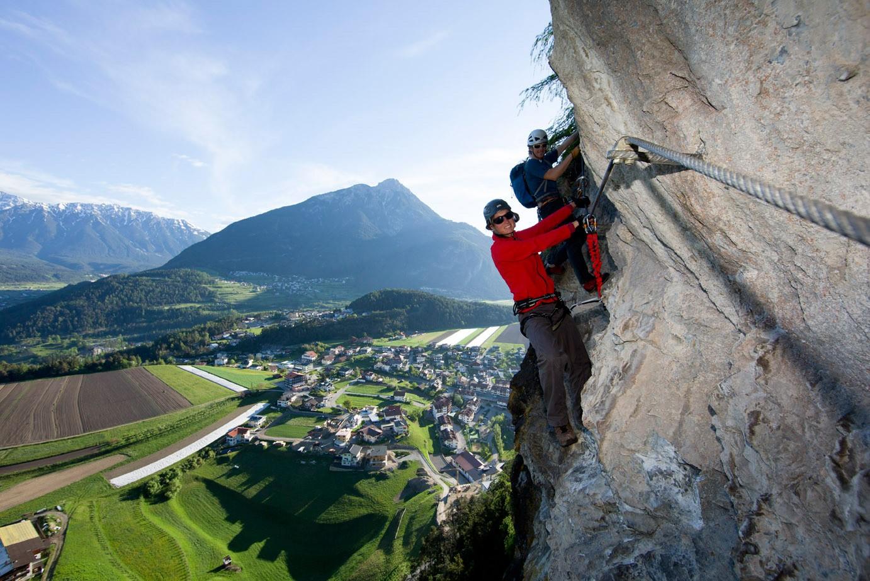 Klettersteig Bavaria : Tageskurs klettersteig am grünstein