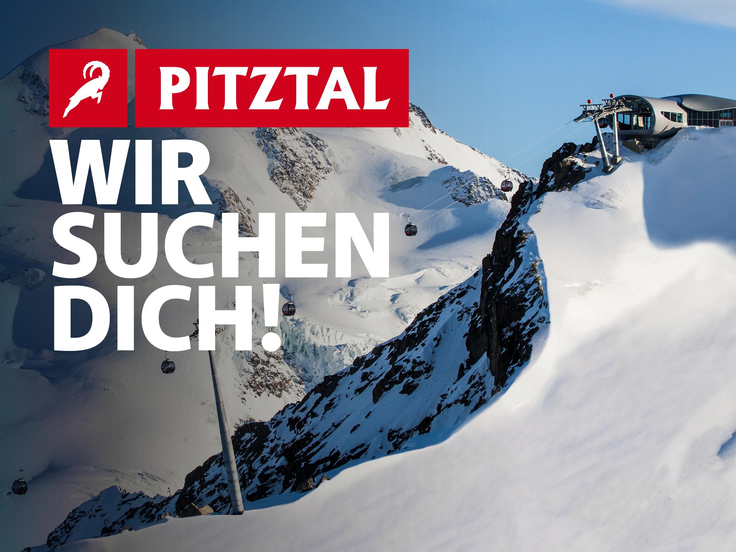 Wir suchen dich - Pitztaler Gletscherbahn & Rifflsee