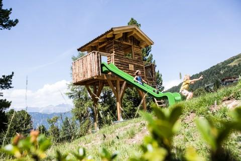 Zirbenhütte im Zirbenpark am Hochzeiger