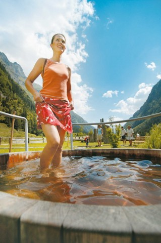 Kneipp facility in Pitztal