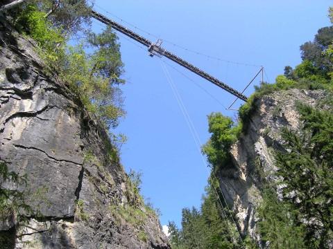 Benni Raich Brücke in Arzl