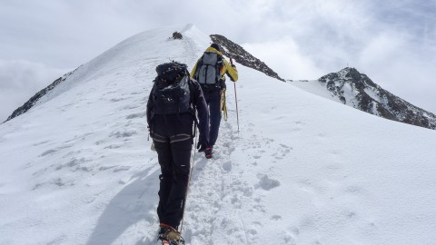 Ascent to the Wildspitze