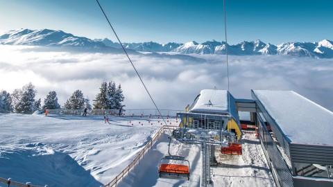 Zirben lift at Hochzeiger