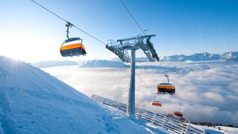 Zirbenbahn Hochzeiger Skigebiet