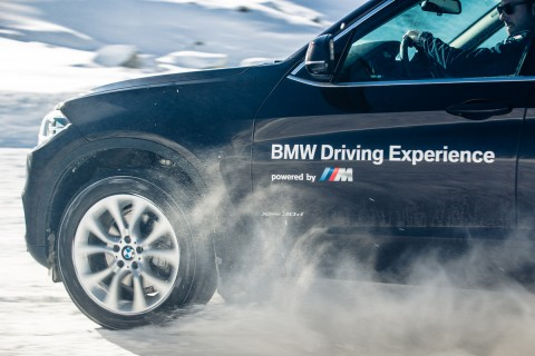 Alpine winter driving experience with BMW on snow and ice
