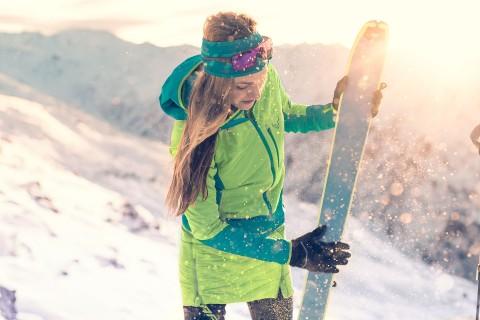 Im Skitourenpark am Pitztaler Gletscher
