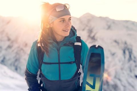 Unterwegs im Dynafit Skitourenpark