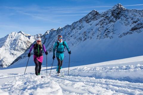 Dynafit Skitourenpark am Pitztaler Gletscher