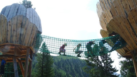 Climbing fun at the ZirbenPark