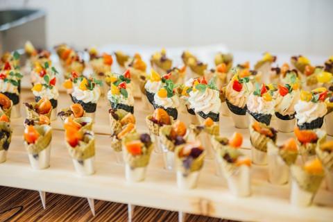 Flying Buffet unserer Pitztaler Spitzenköche