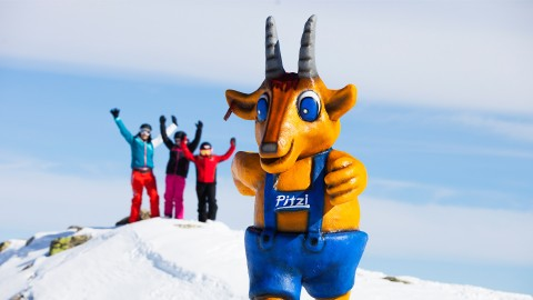 Pitzi mascot Pitztal Hochzeiger