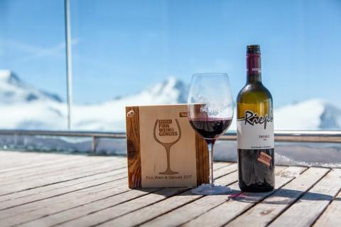 Die höchste Weinverkostung Österreichs im Café 3440 am Pitztaler Gletscher