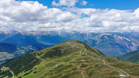 Panoramablick Bergstation