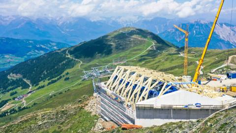 Bergstationsgebäude