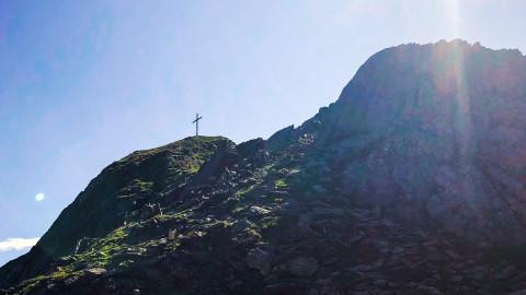 Hochzeiger Gipfelkreuz, 2.560 m
