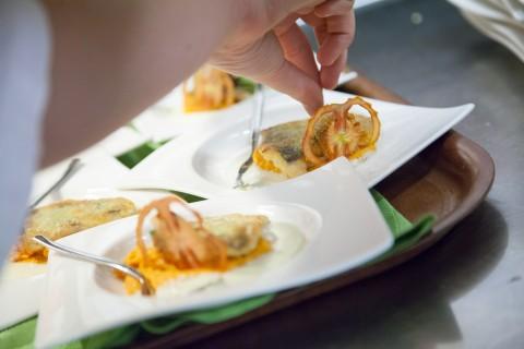 ein außergewöhnliches 9-Gänge Menü zaubern unsere Pitztaler Köche