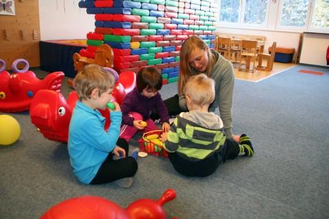 Spiel und Spaß in Pitzis Kindergarten im Pitztal