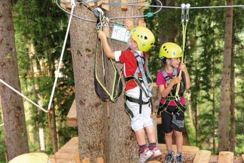 Der XP Abenteuerpark ist auch für die Kleinen geeignet