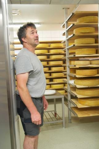 Alpine dairy Taschach Alm