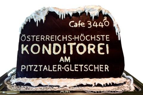 Österreichs höchste Konditorei am Pitztaler Gletscher