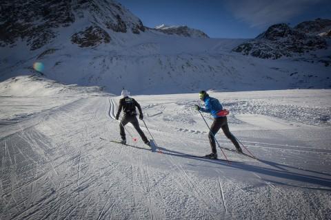Cross-country Ski Center at Pitztal Glacier
