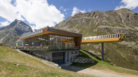 Rifflsee Top Station and Restaurant Sunna Alm