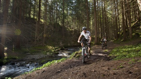 95 km of marked trails are waiting for mountain bikers in Pitztal