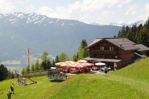 Stalderhütte im Hochzeiger Wandergebiet