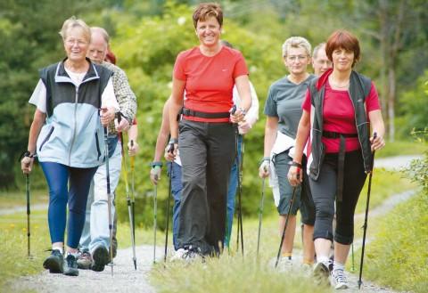 Routen für Nordic Walking im Pitztal